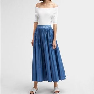 SALE!✅DKNY Long Pleated Skirt